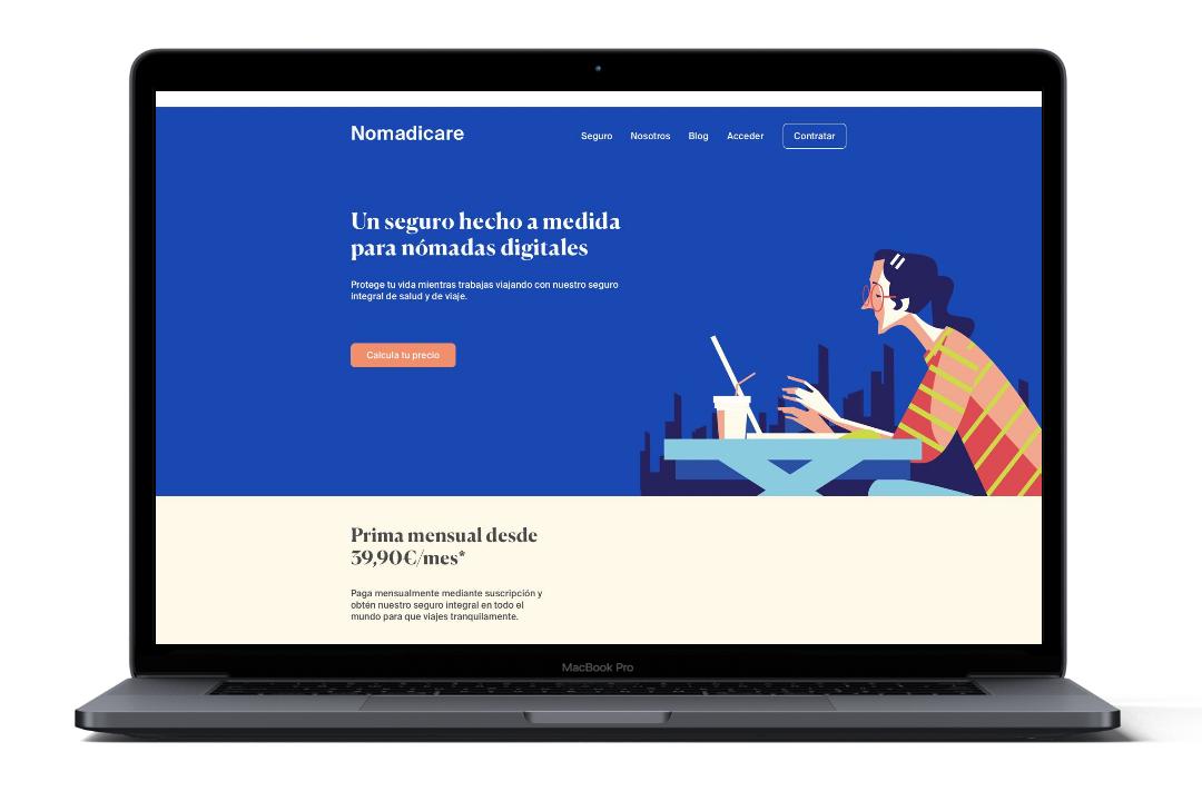 nomadicare web